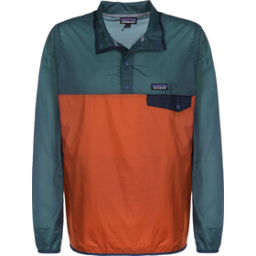 Patagonia Houdini Snap-T Pullover Heren, sunset orange